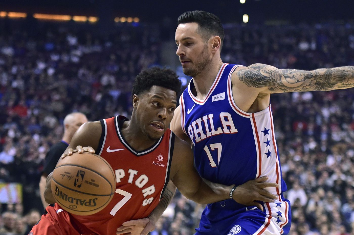 675c096ff82 Jimmy Butler s 38 not enough as Raptors beat Sixers