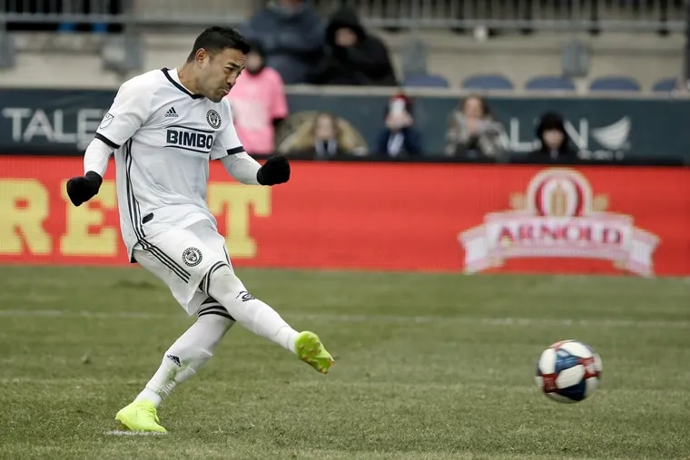 Union midfielder Marco Fabian has been dealing with an ankle injury since April.