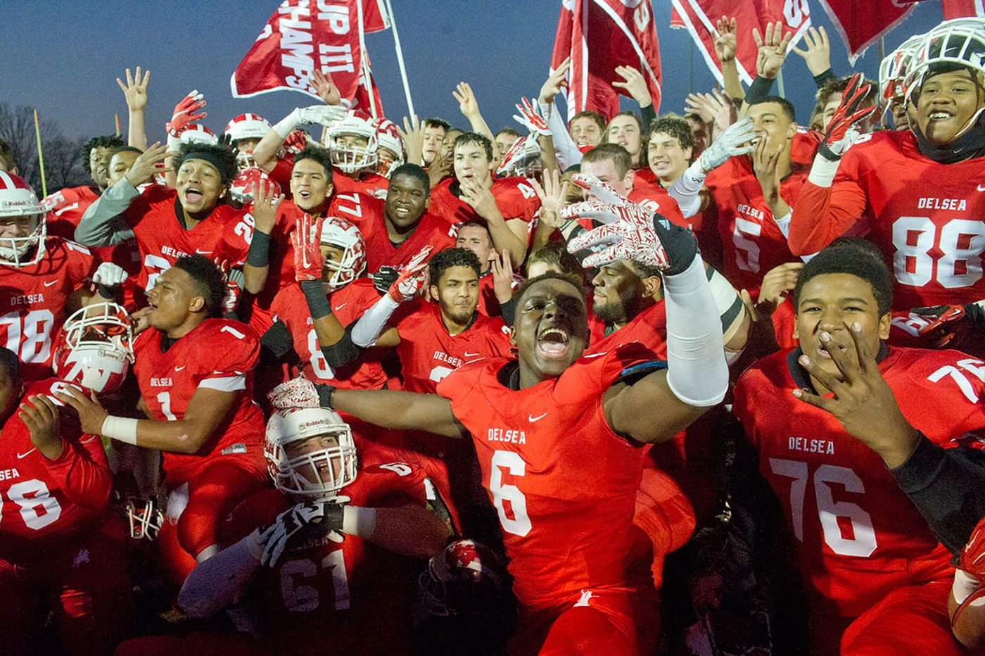 Delsea rides defense, run game to South Jersey 3 title