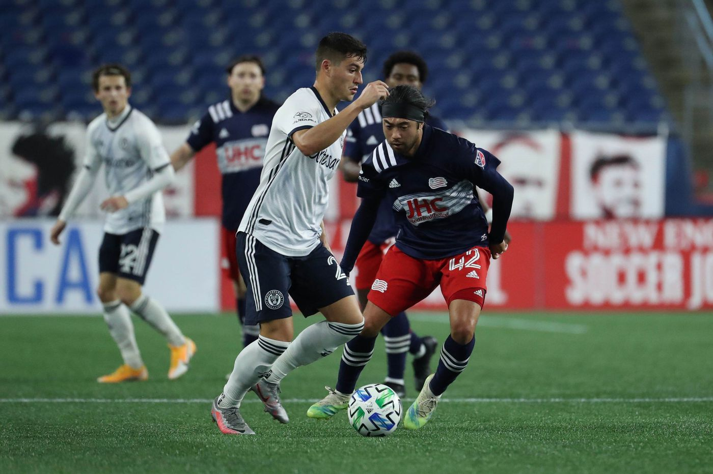 Union edge New England Revolution, 2-1, on Anthony Fontana's goal and Andre Blake's saves
