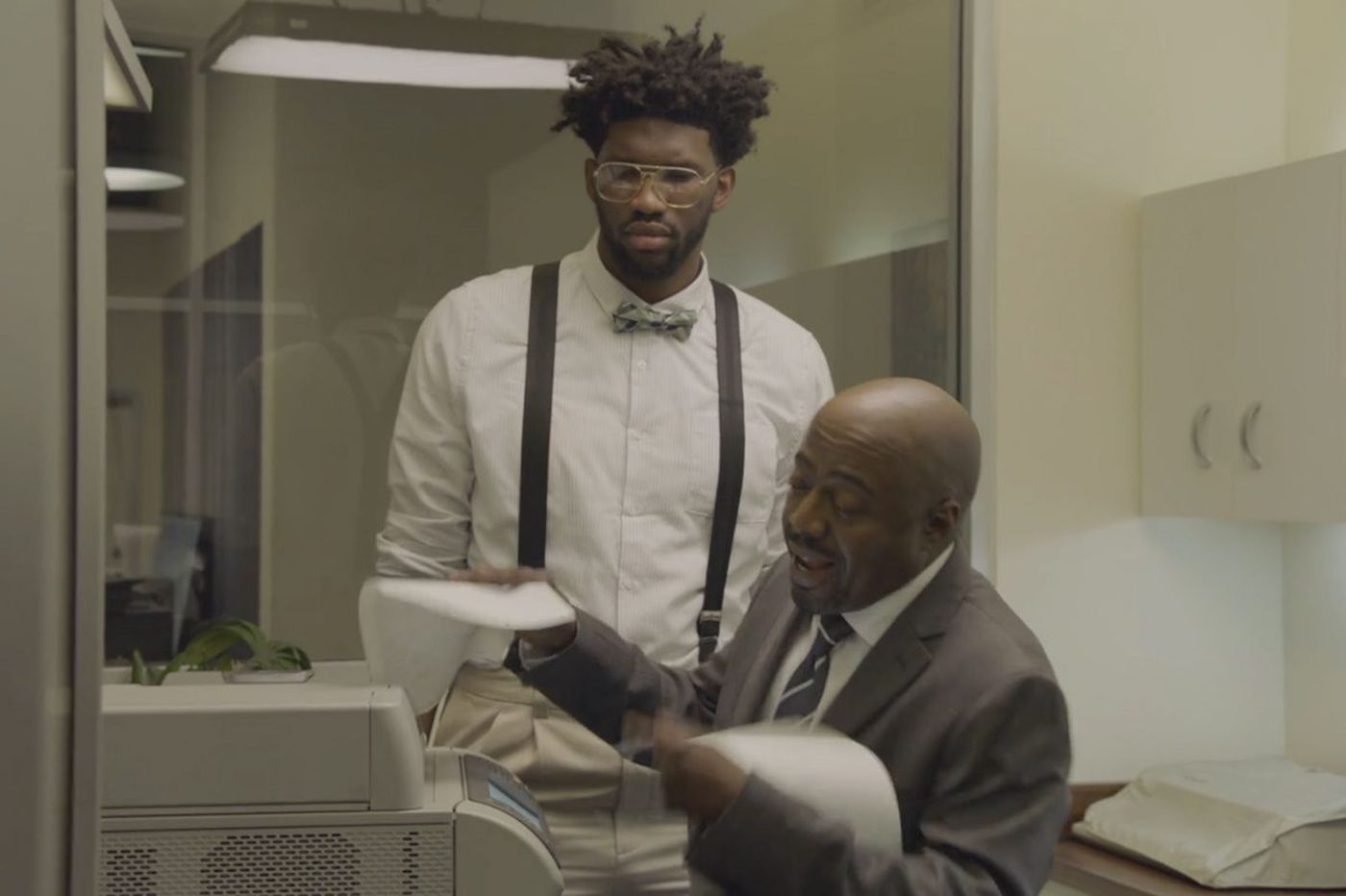 Joel Embiid makes his comedic debut on Verizon's go90 streaming service