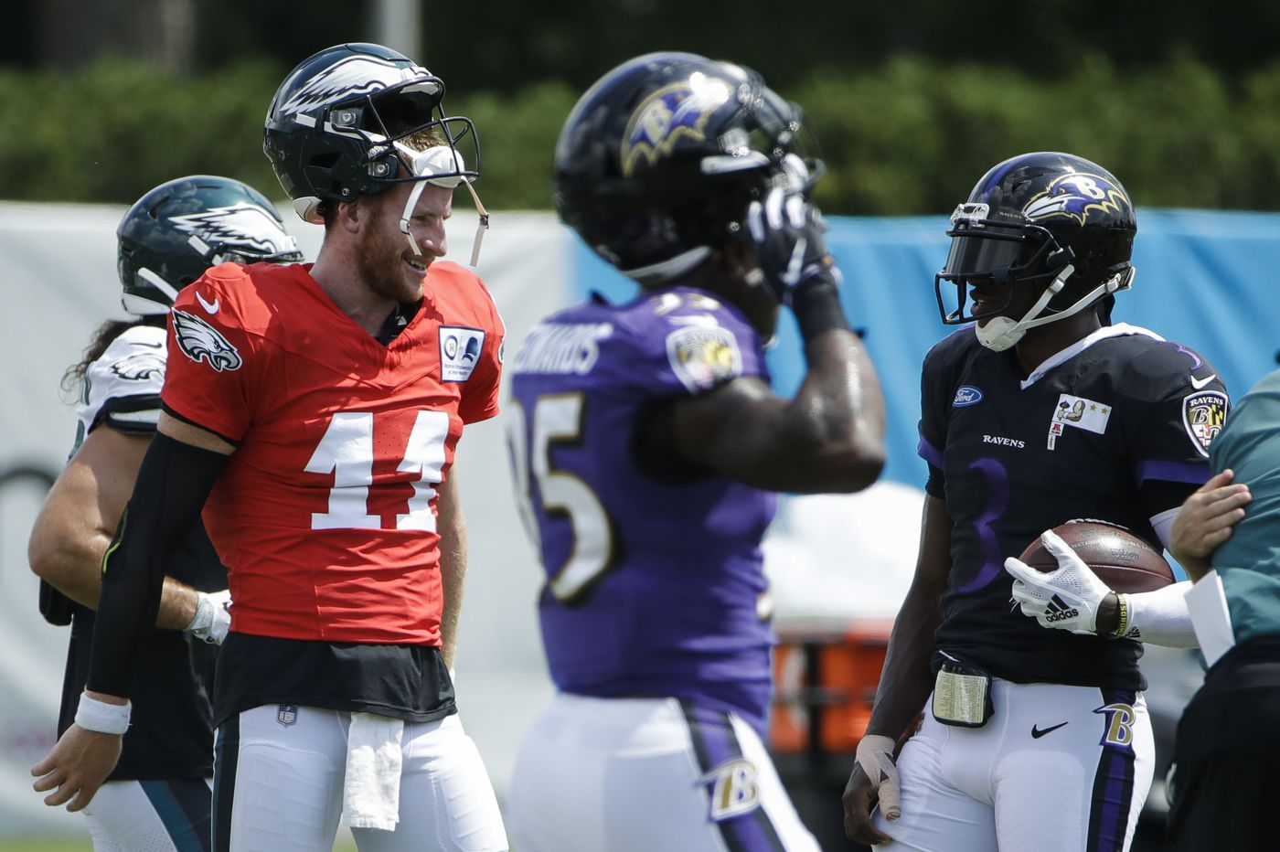Eagles-Ravens joint practices might be the solution to the NFL's frustrating preseason