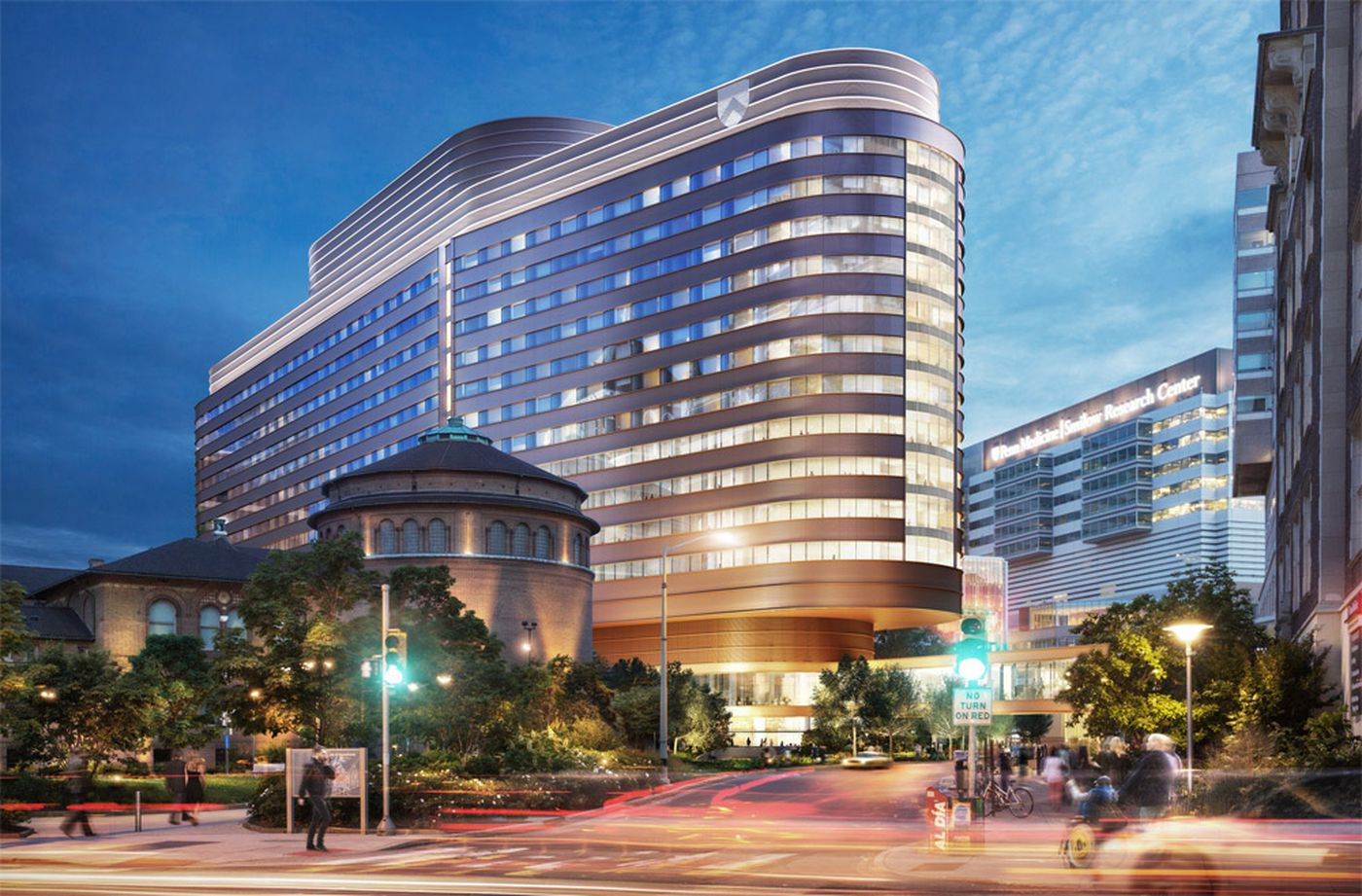 Penn Medicine's Pavilion, which is currently under construction, will house 500 private patient rooms and 47 operating rooms in a 1.5 million square foot, 17-story facility across from the Hospital of University of Pennsylvania and adjacent to the Perelman Center for Advanced Medicine.