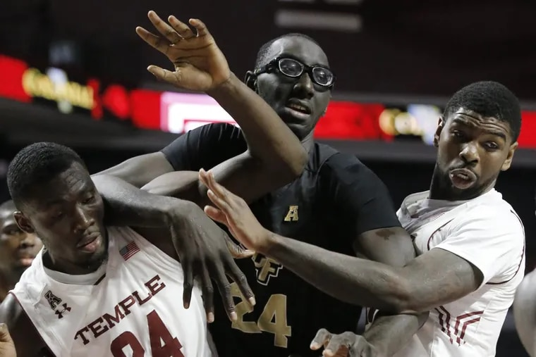 UCF center Tacko Fall developed into one of college basketball's most improved players last season.