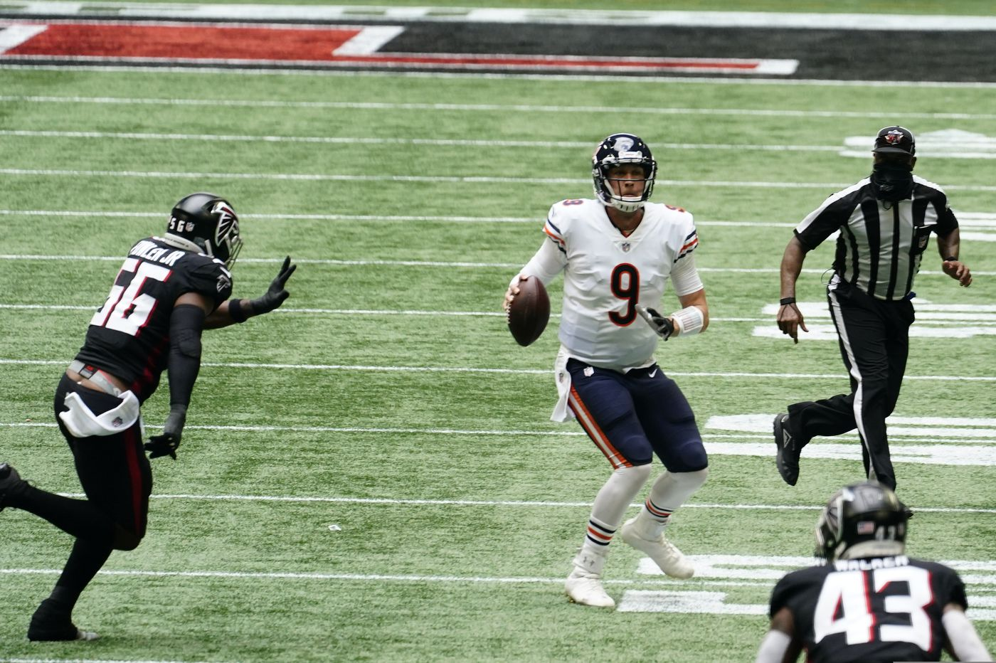 Nick Foles channels his Eagles days in leading the Bears to a dramatic fourth-quarter comeback win, and more NFL news
