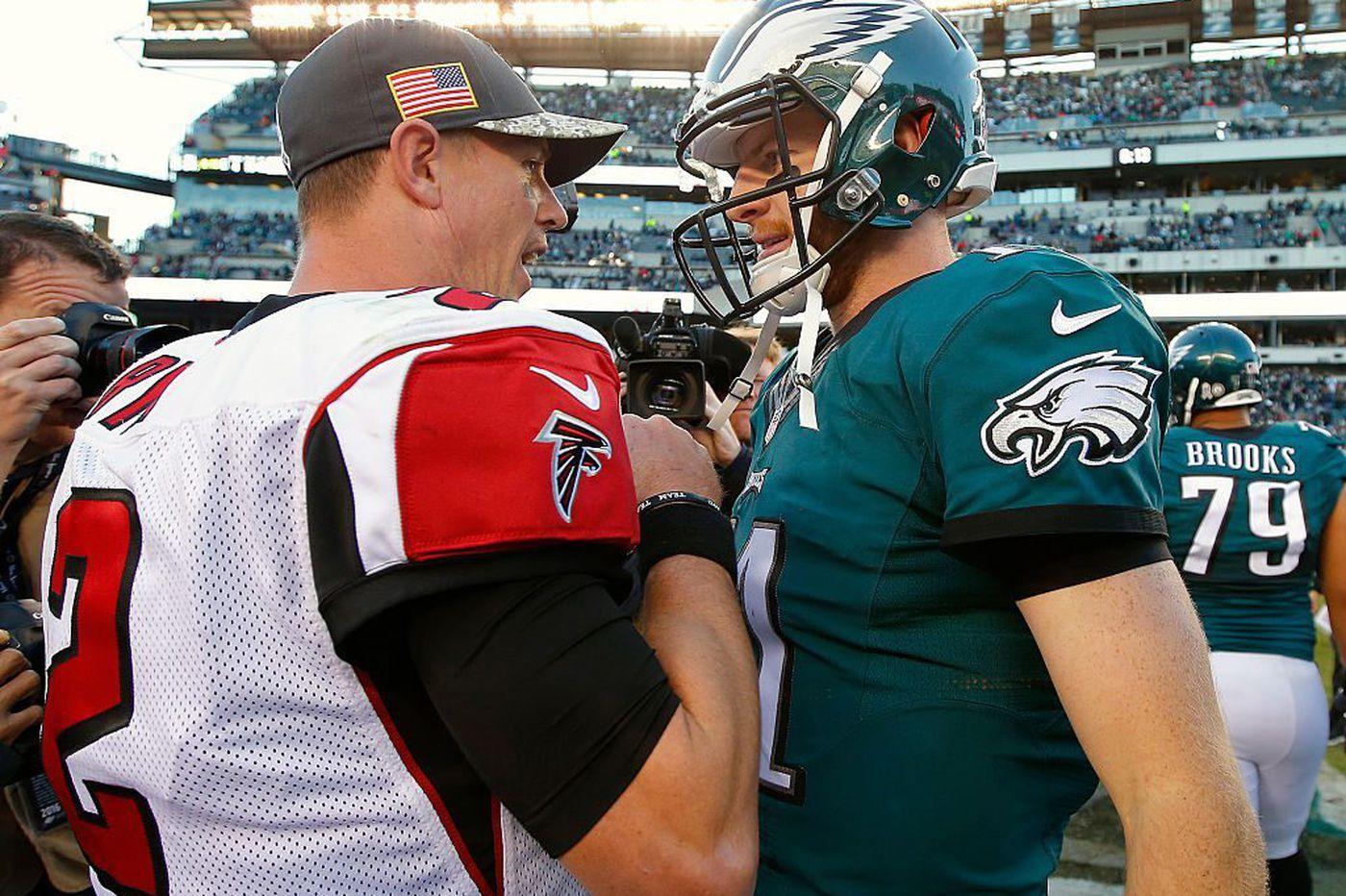 New coach Rich Scangerello has praise for Eagles quarterback Carson Wentz's mental approach