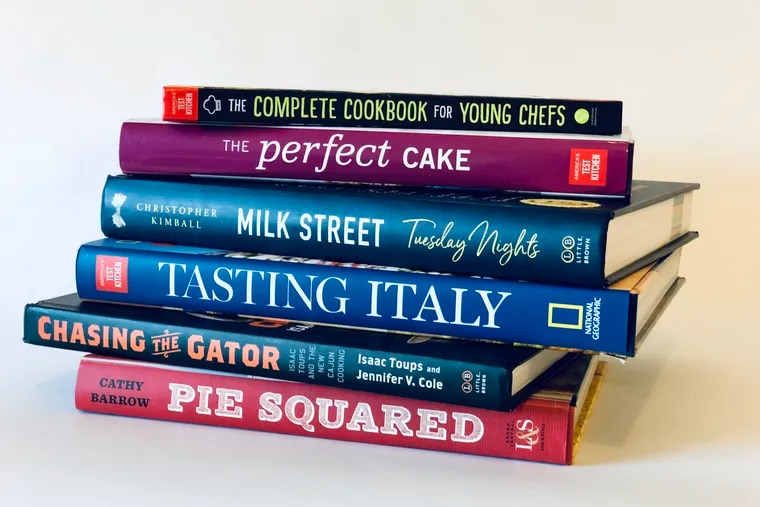 Cookbooks recommended for holiday gift-giving.
