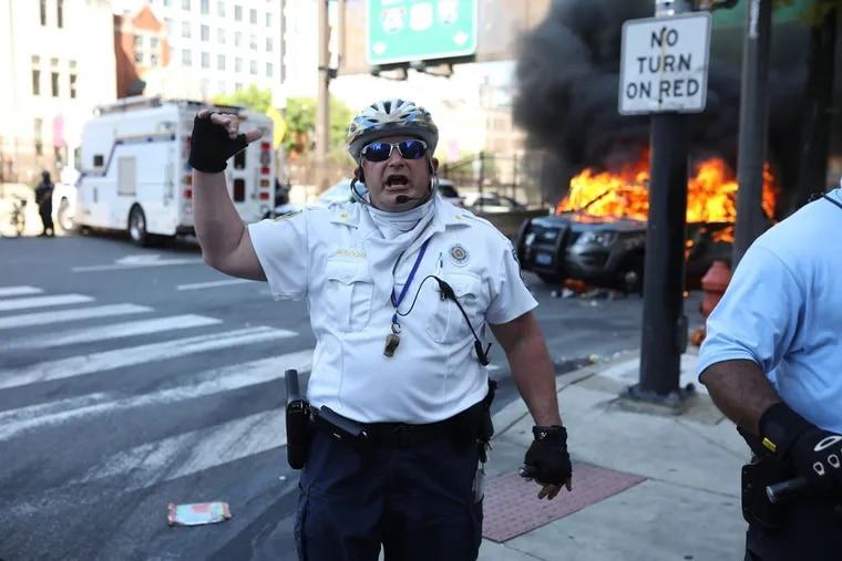 Philadelphia police Staff Inspector Joseph Bologna, Saturday, May 30, 2020.