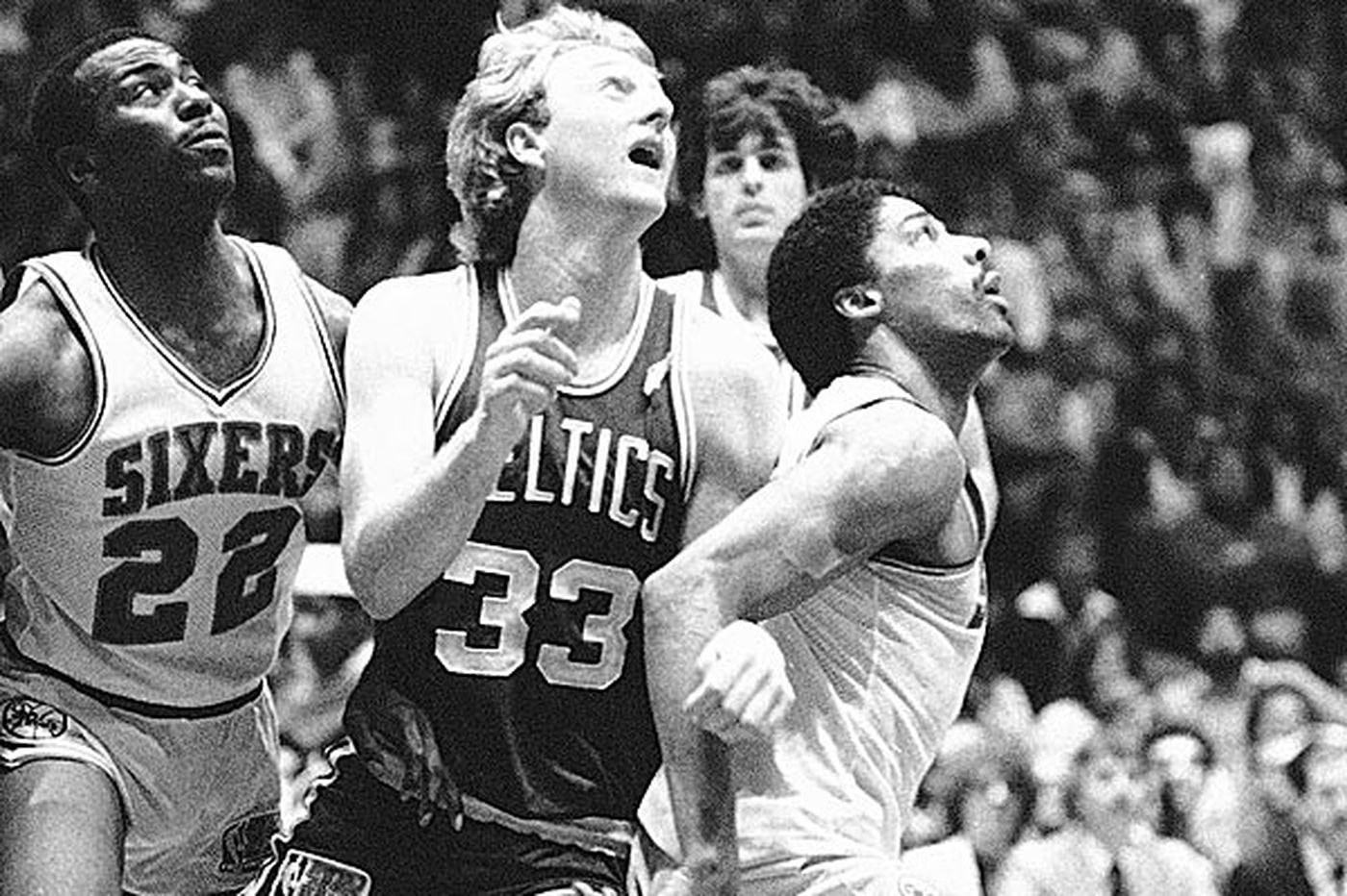 The night Erving and Bird went to war - literally