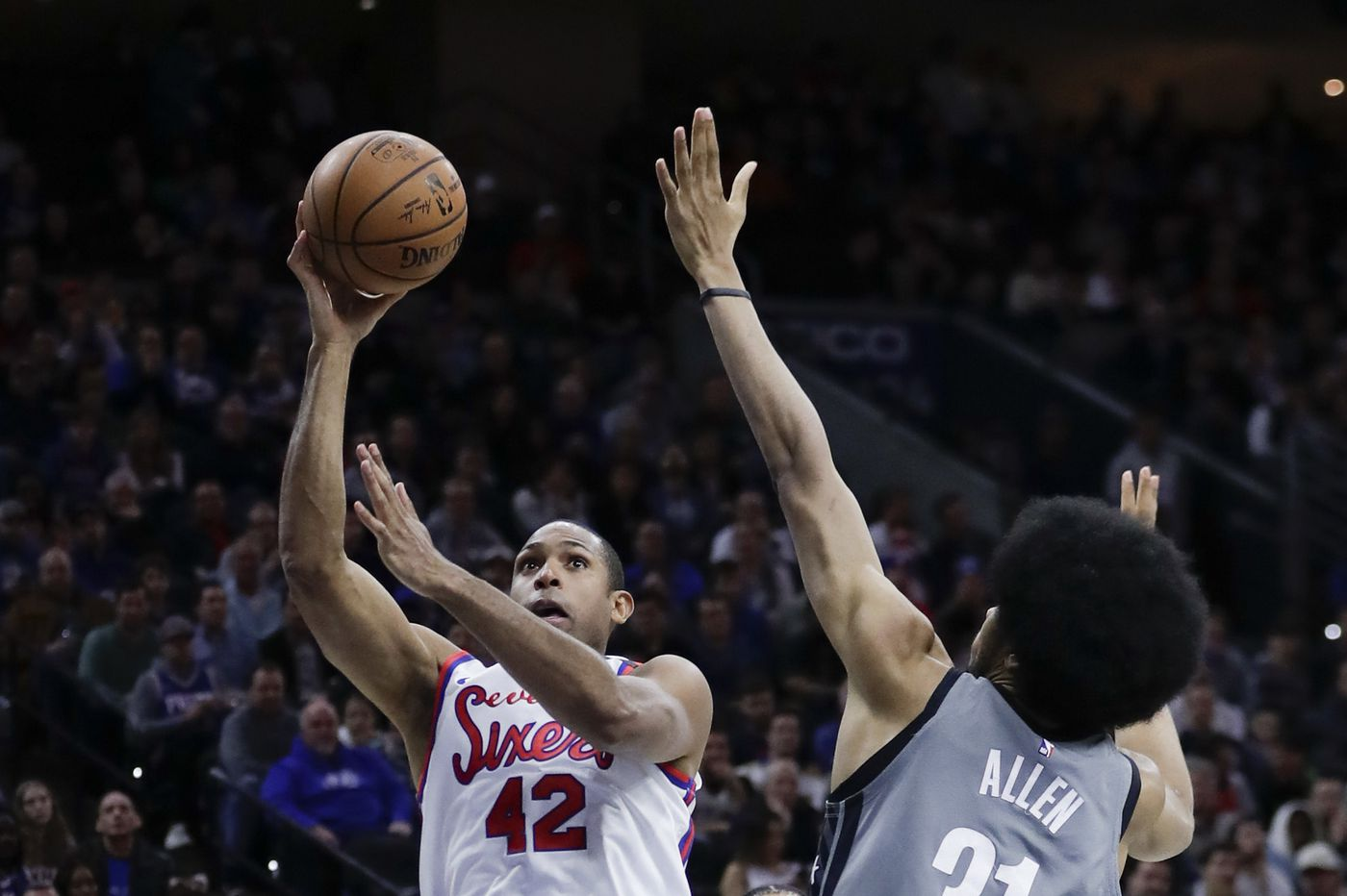 Sixers' Al Horford looks to build on Thursday's performance as team heads west