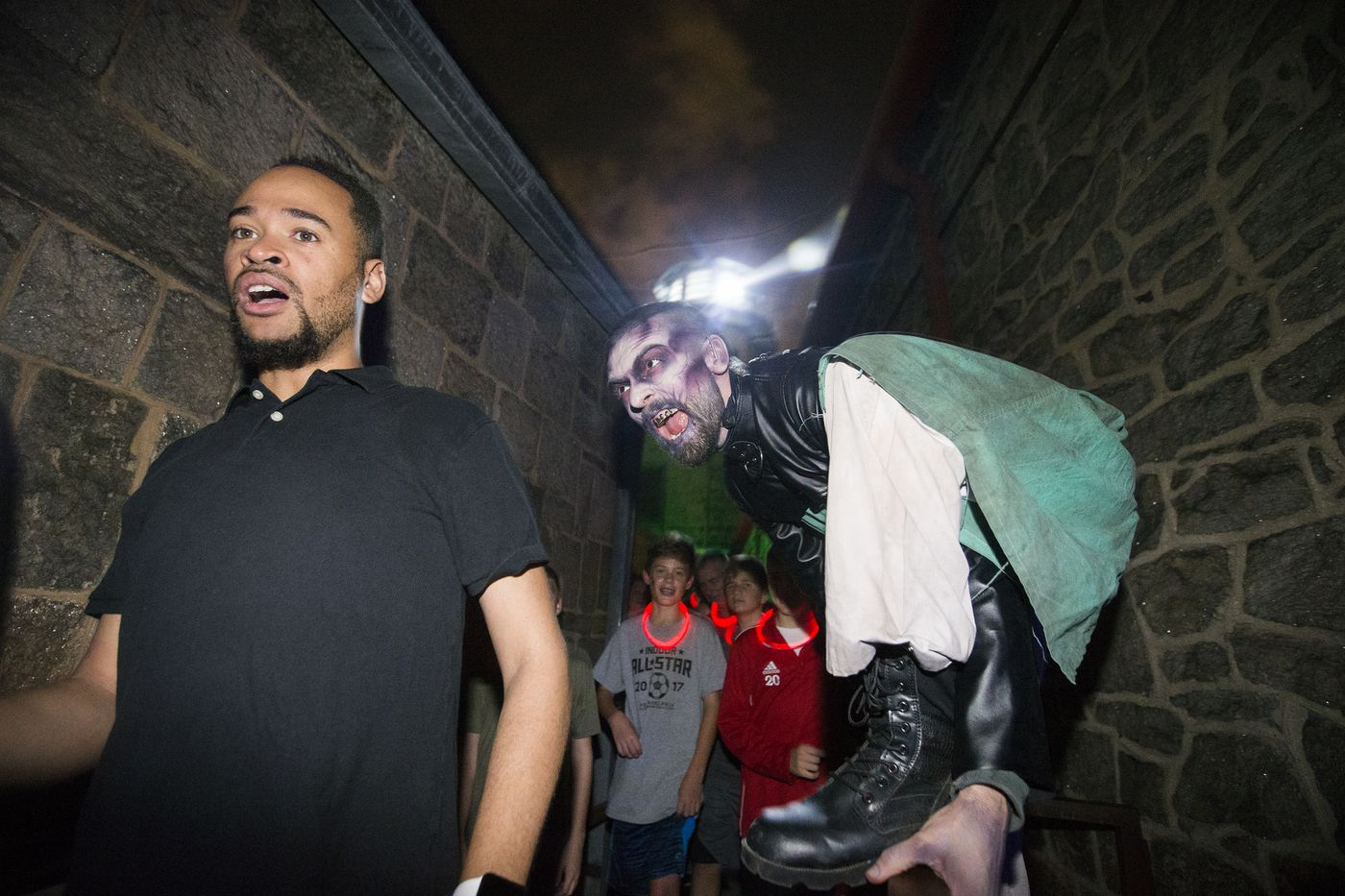 Behind the scenes at Terror Behind the Walls: What it's like to make people scream ALL night long