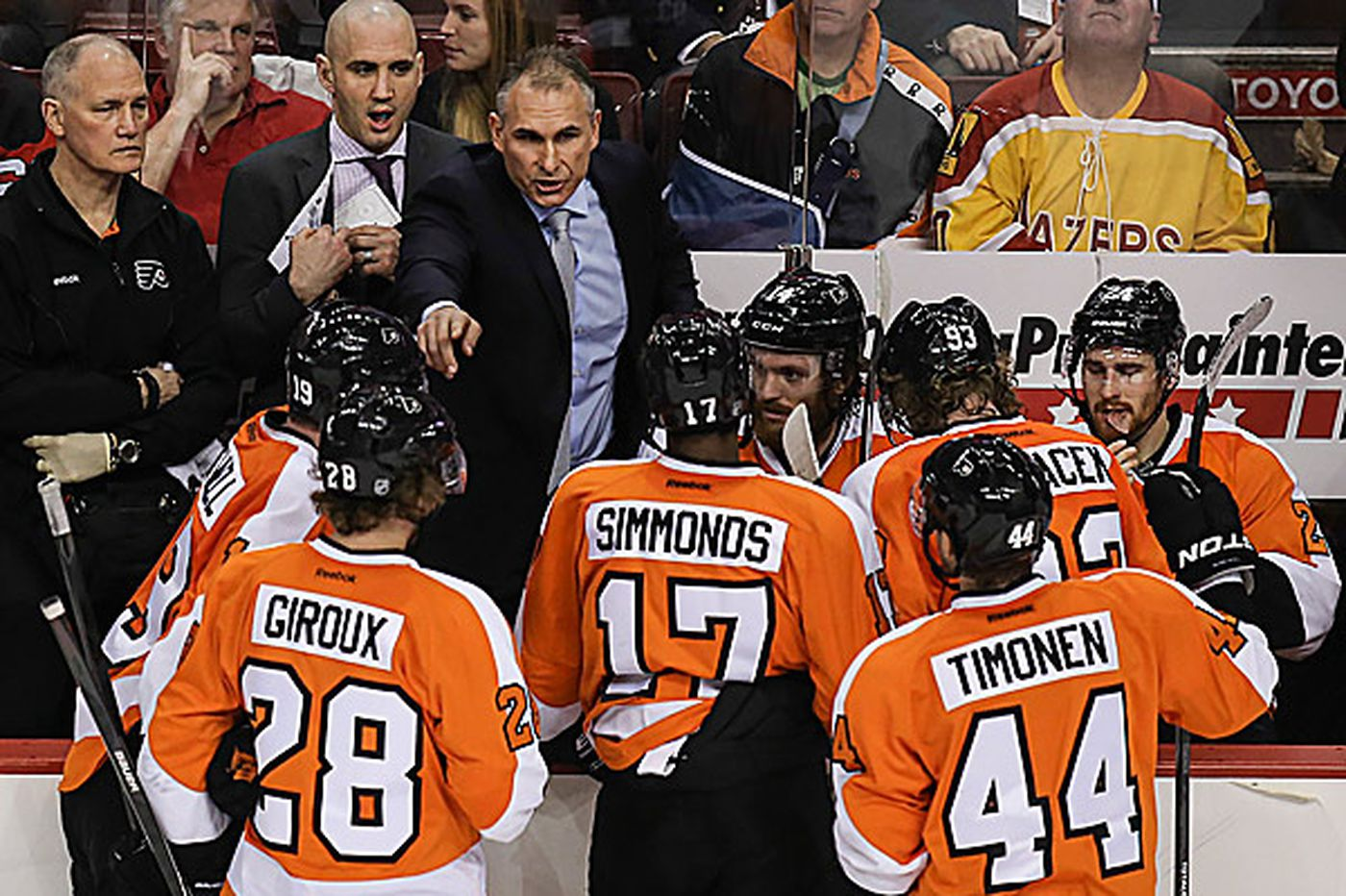 Flyers have responded to Berube's blunt approach