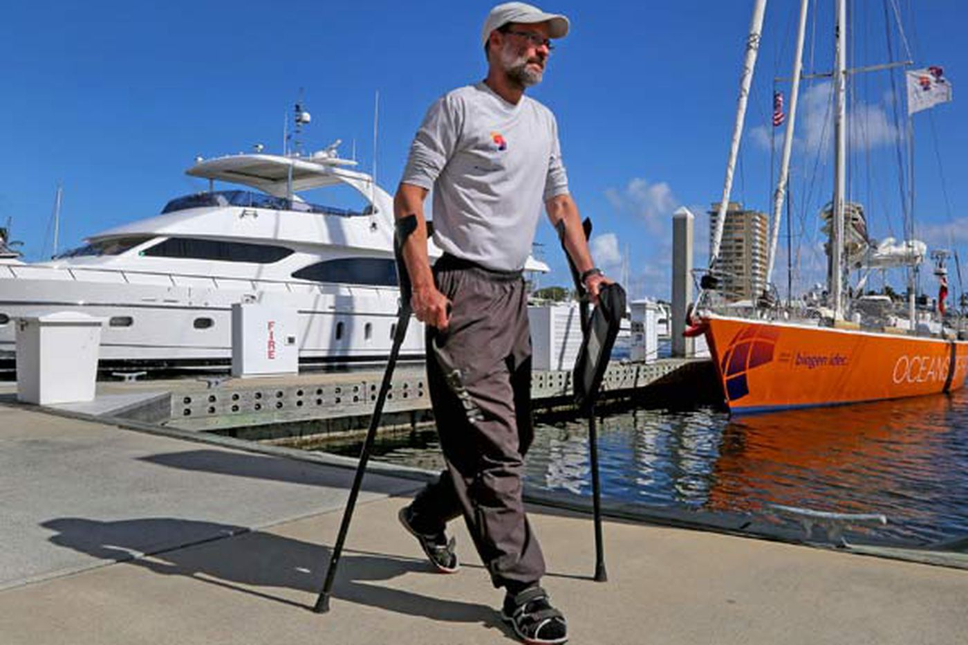 Sailboat crew wants to sink perceptions about abilities of people with MS