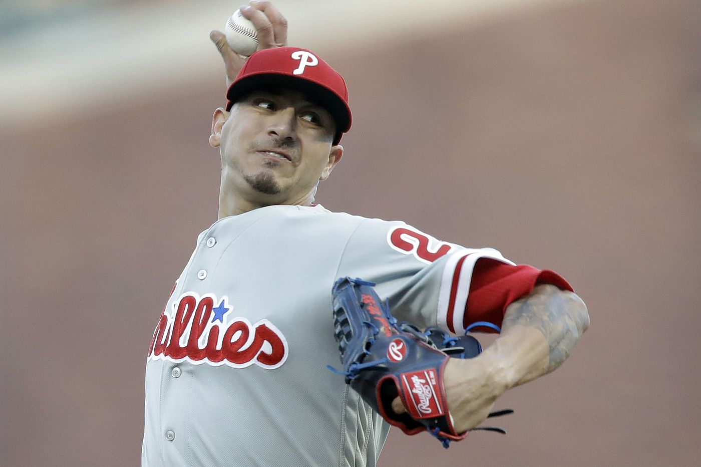 Phillies waste Vince Velasquez gem, get shut out by Giants for second straight night