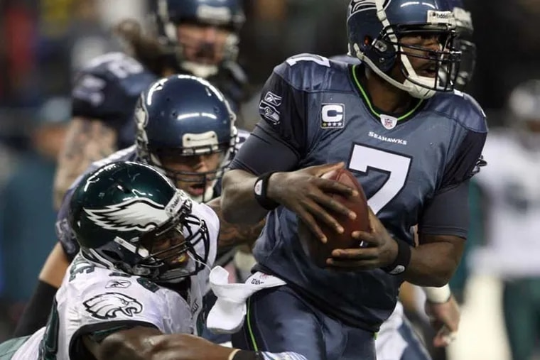 Former Seahawks and Vikings quarterback Tarvaris Jackson was 36 at the time of his passing.  (Yong Kim / Staff Photographer)
