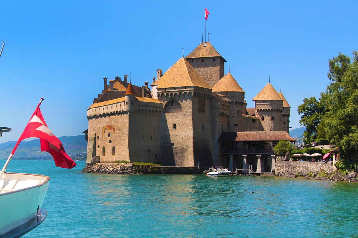 Lake Geneva is a Swiss paradise
