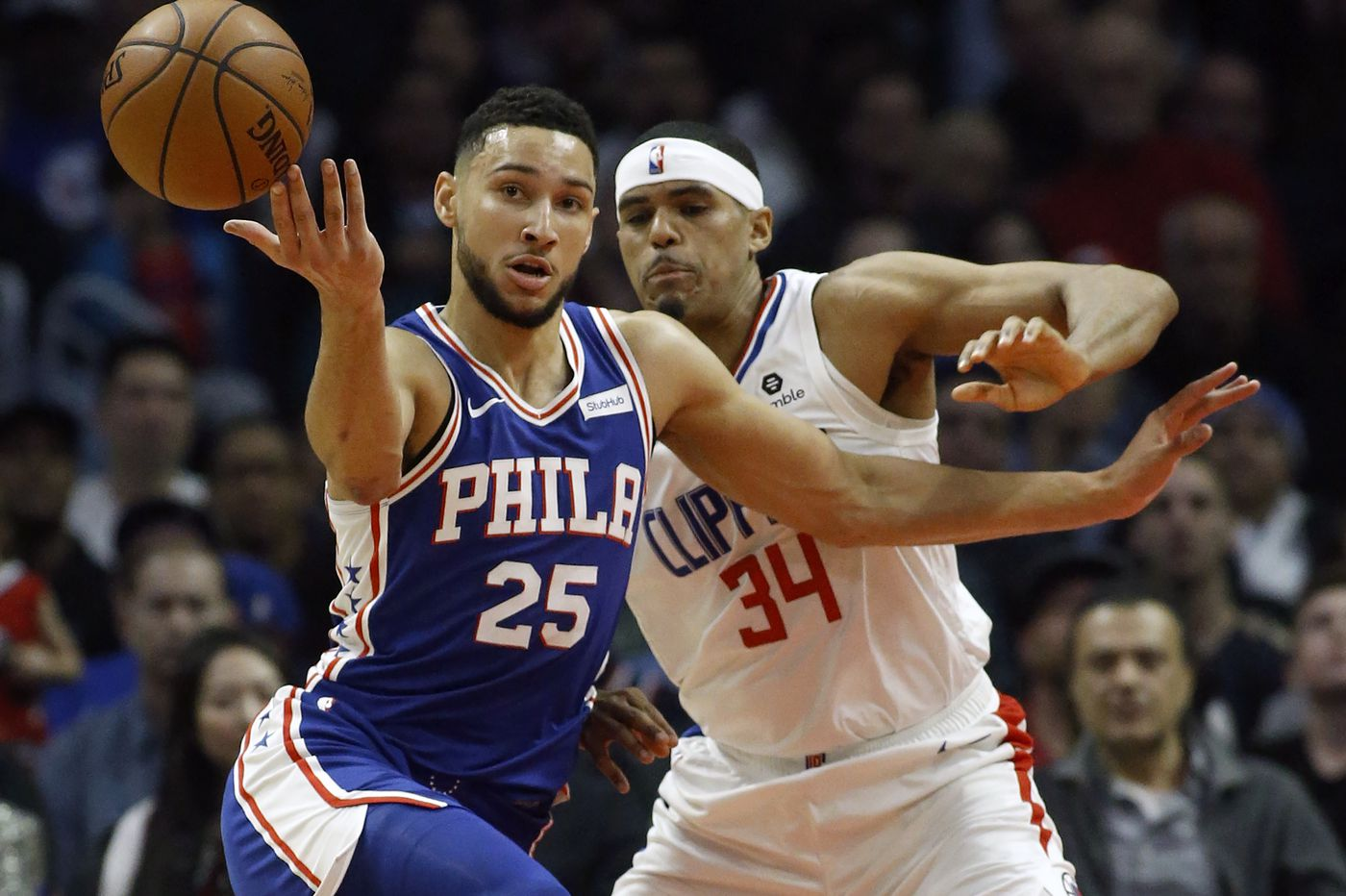 Ben Simmons' attempted jump shots highlight successful outing