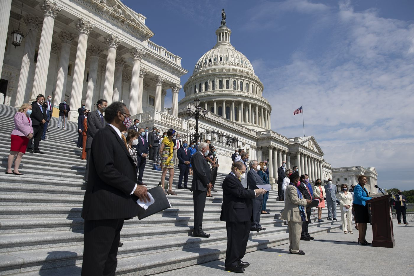 National policing reform stalls in Congress despite public support during national trauma