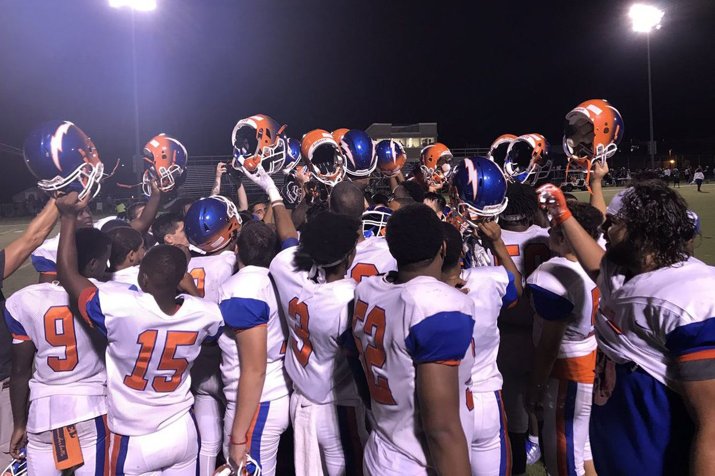 7316b35e323 Friday's South Jersey football roundup: Solomon DeShields sparks Millville  on opening kickoff in win over Cherokee