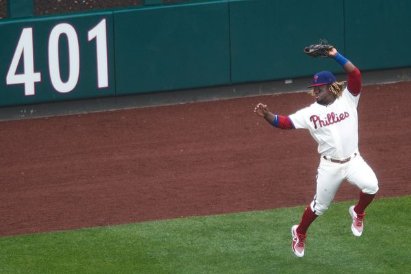 Phillies' Odubel Herrera has been relegated to a bench role as Scott Kingery continues getting starts in center field