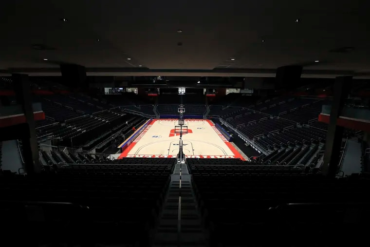 Dayton Arena, where the play-in round of the NCAA tournament was supposed to take place starting March 17.