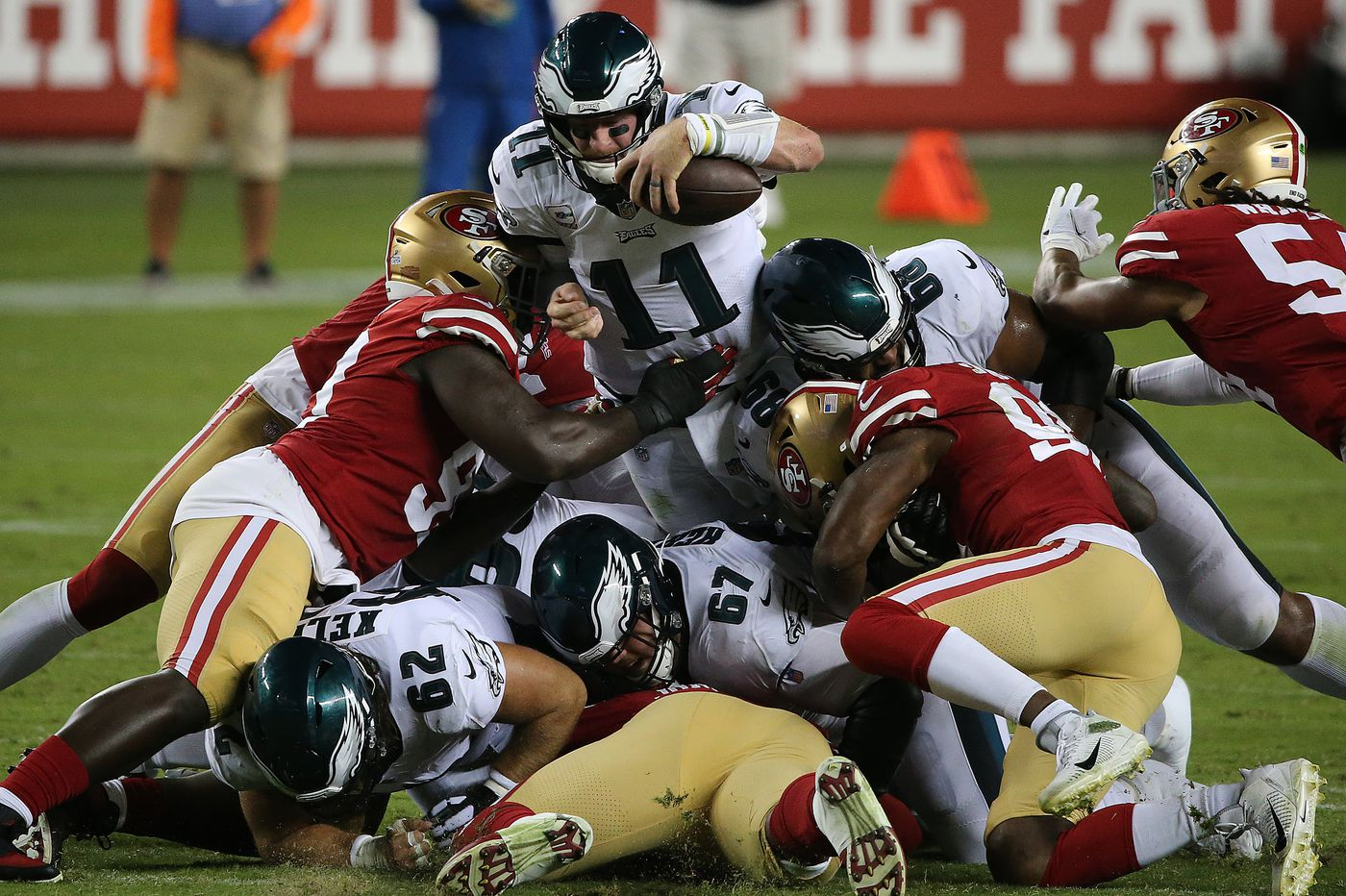 Good news for the Eagles: They beat the 49ers. Better news: The NFC East stinks. | Mike Sielski