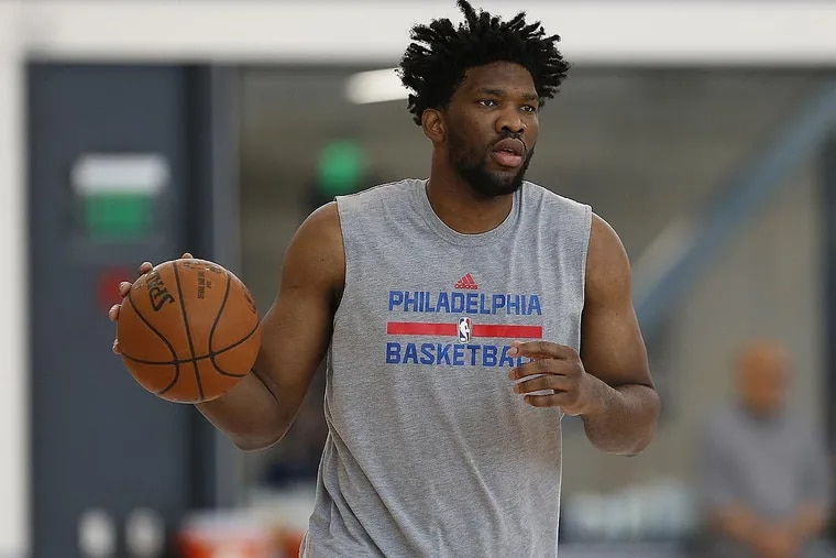 Sixers center Joel Embiid was limited to 31 games last season.