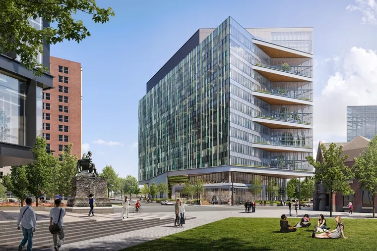 Gensler has designed a new lab building for Brandywine Realty Trust at 31st and Market that is meant to be pandemic proof.