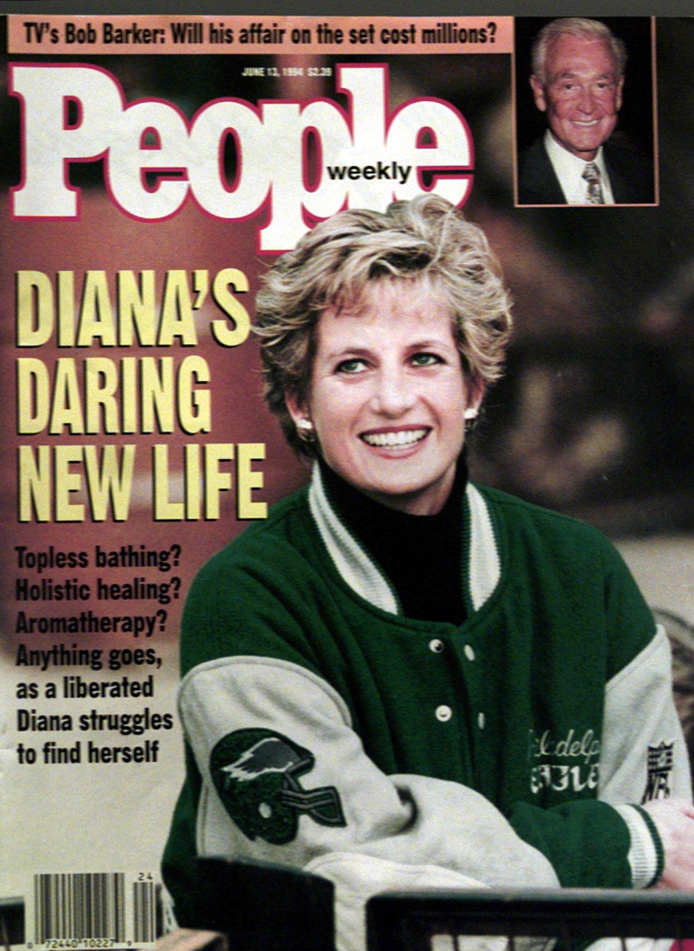 online store 937ce c83db How Grace Kelly led to Princess Diana's wearing Eagles gear