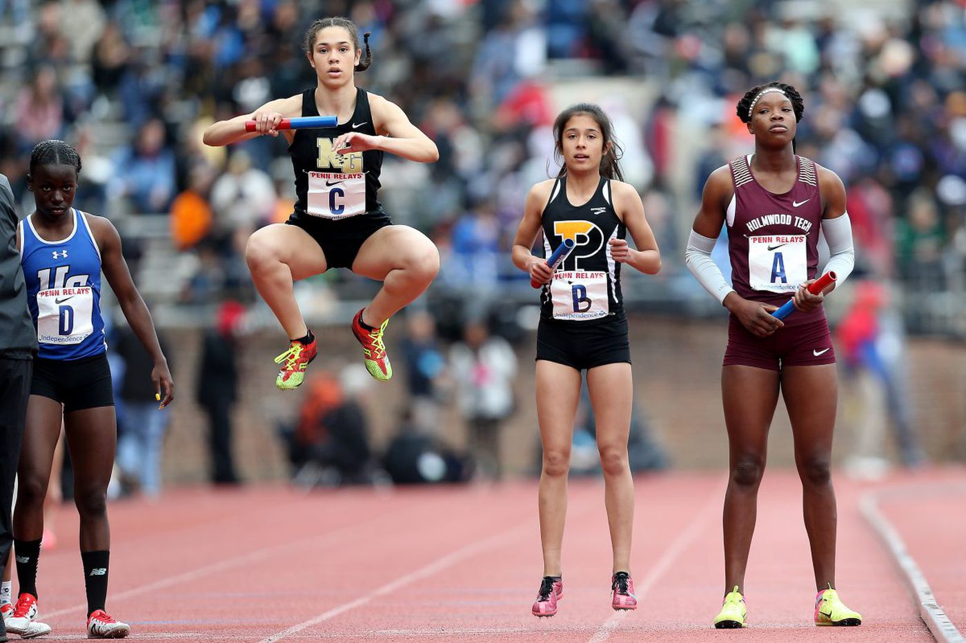 Neumann-Goretti girls set 4×800 school record at Penn Relays