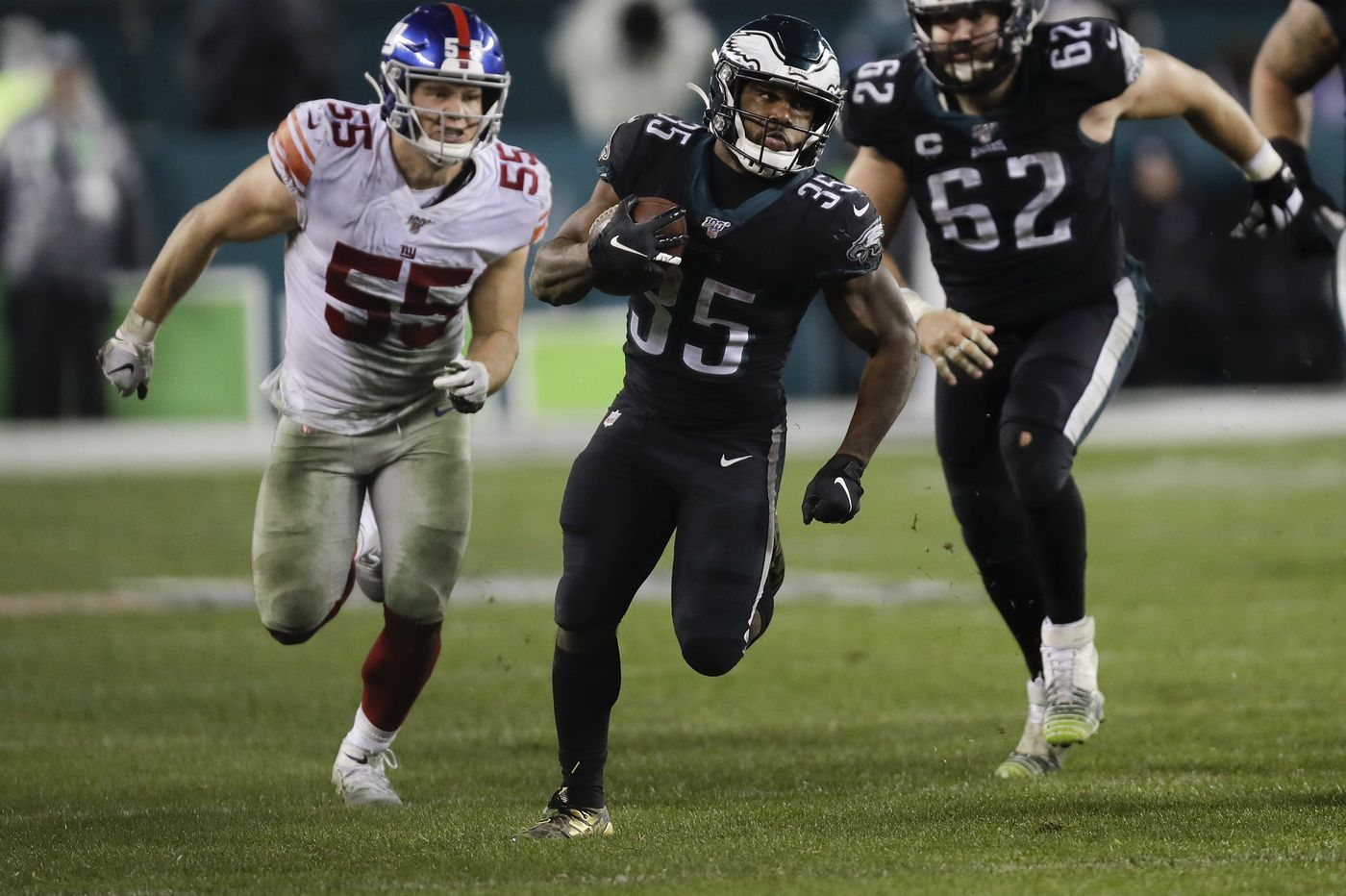 Boston Scott is Eagles' unheralded hero in 23-17 overtime win over Giants | Jeff McLane