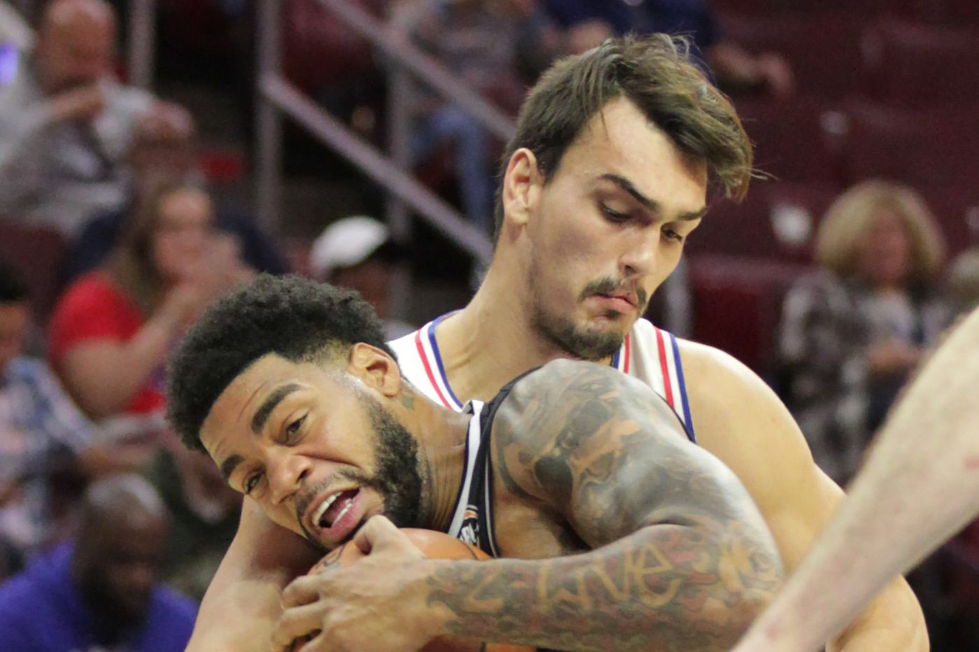 Sixers' Dario Saric unfazed by annual early slump