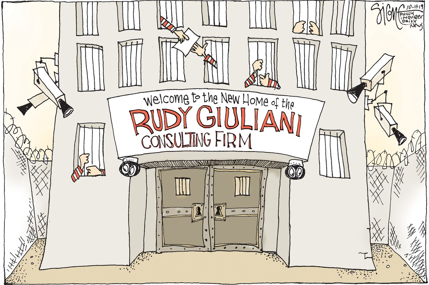 Political Cartoon: Rudy Giuliani relocates