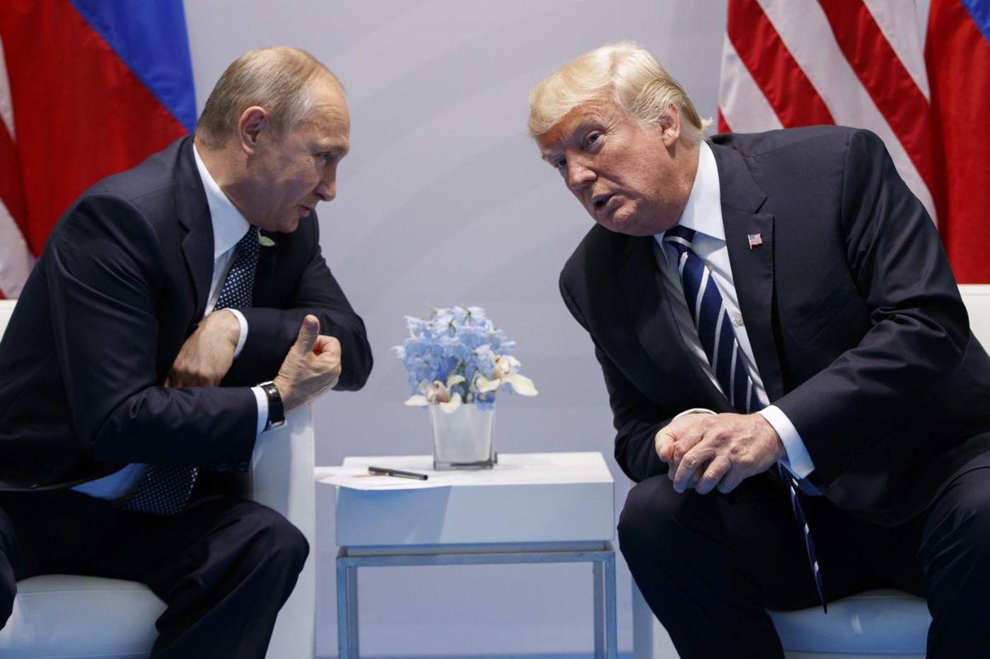 Trump's weak response to Moscow attacks boosts Putin I Trudy Rubin