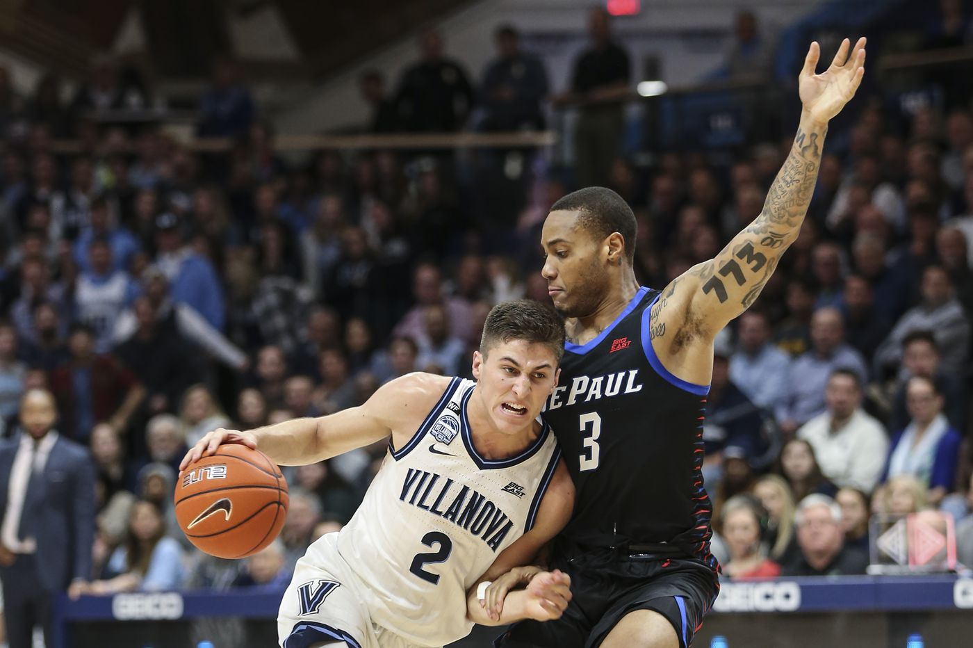 No. 14 Villanova 79, DePaul 75: Stats, highlights and reaction from the Wildcats' overtime thriller