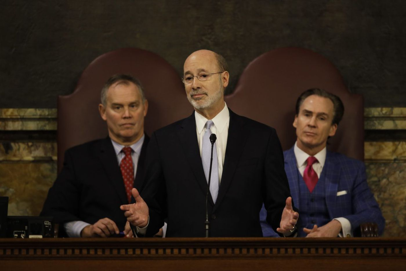 With Pa. budget unbalanced, power struggle in Capitol - and maybe in court