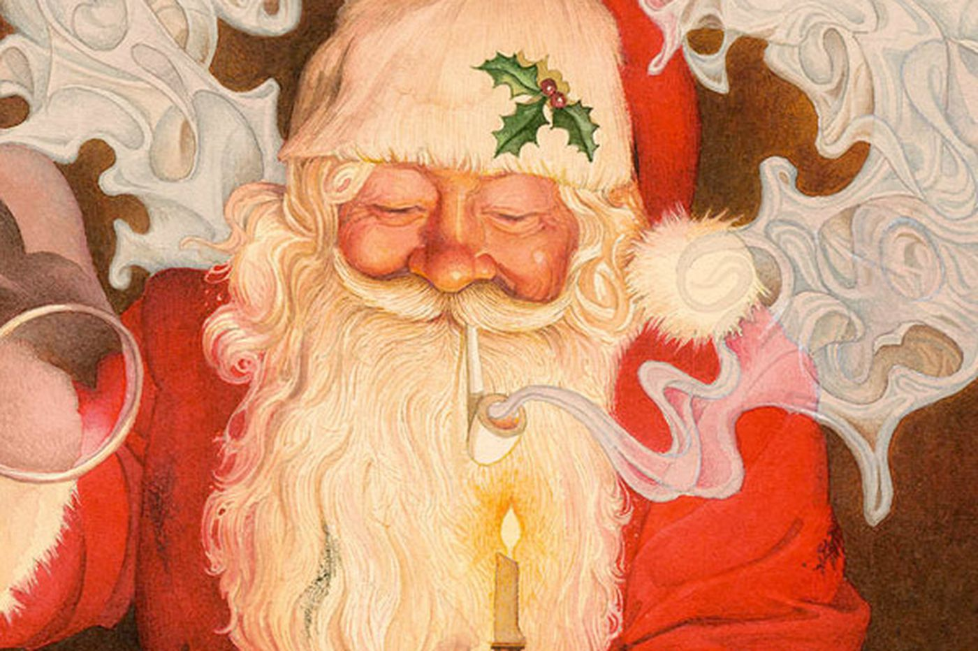 'Twas the Night that Santa gave up his pipe