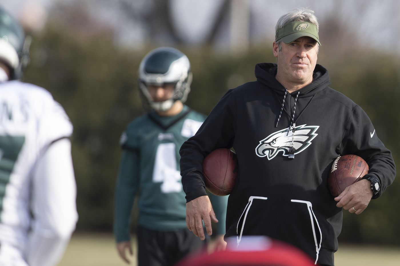 Doug Pederson made the Eagles look amateurish in discussing Carson Wentz's back injury   Marcus Hayes