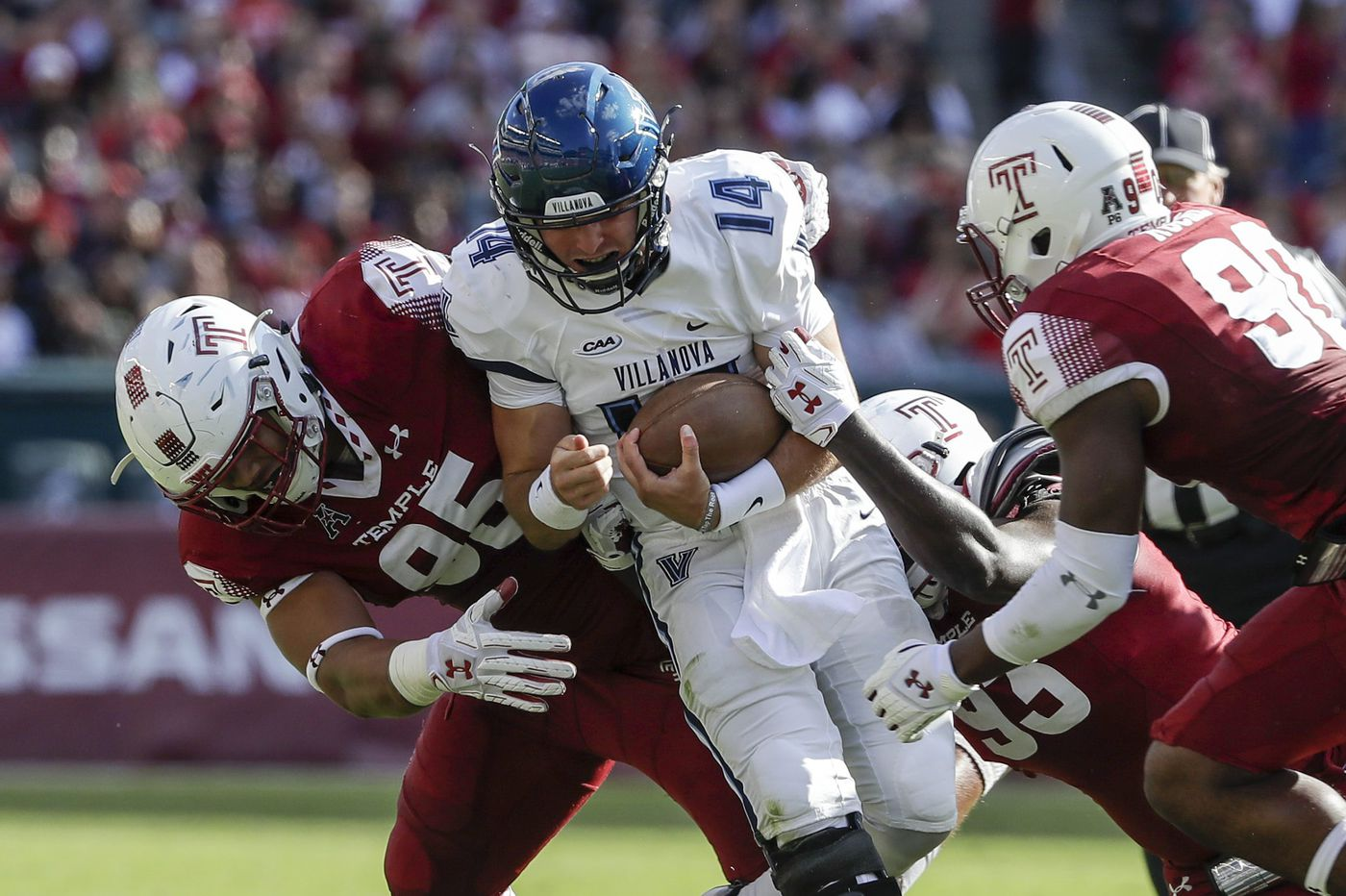 NFL prospect Dan Archibong has made the most of a difficult season at Temple
