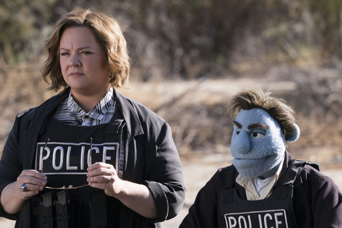 'The Happytime Murders': Puppets (and Melissa McCarthy) behaving badly