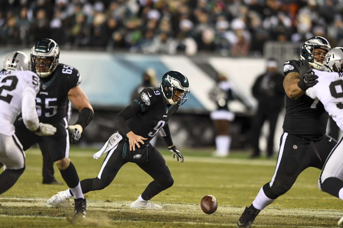 Eagles defense carries Nick Foles most of the way, and he eventually finds the finish line