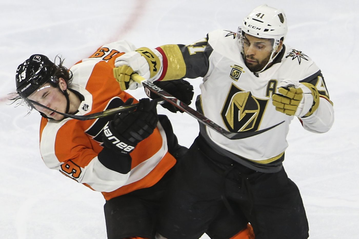 Flyers' opener is Oct. 4 at Vegas; home opener is Oct. 9 vs. San Jose
