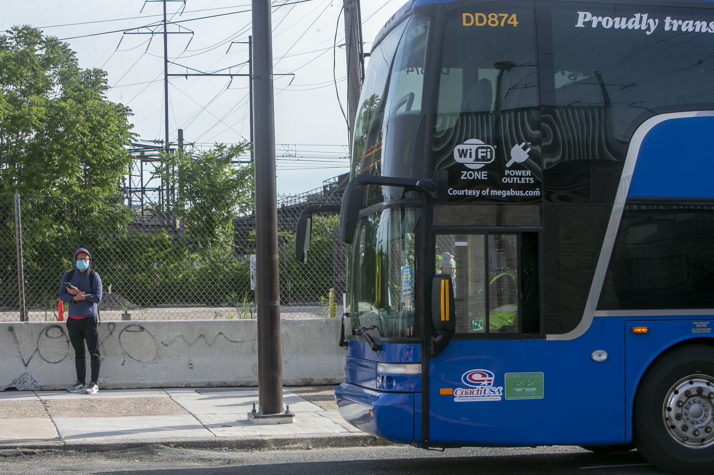 Megabus resumes service between Philly and New York City: 'One step toward being normal'