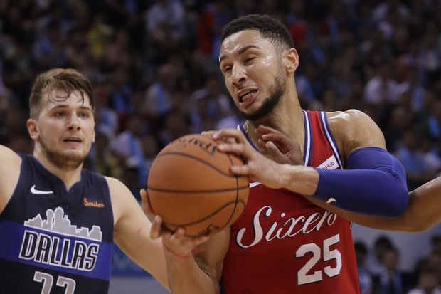 Sixers prepare for Mavericks' star rookie Luka Doncic