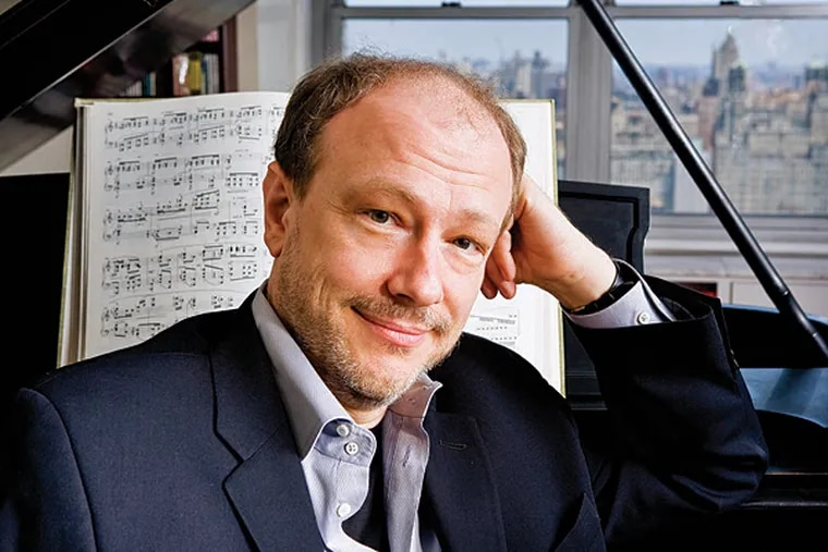 """Pianist Marc-Andre Hamelin played Schubert's """"Sonata in B-flat,"""" plus works by Debussy and his own compositions. (Photo credit: Fran Kaufman)"""