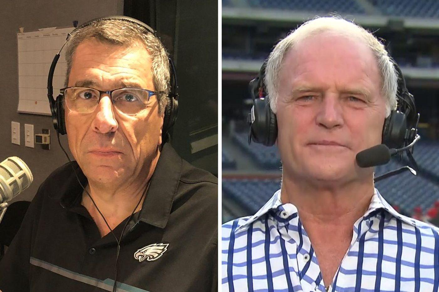 WIP's Angelo Cataldi missed Larry Andersen on the Phillies broadcast this weekend