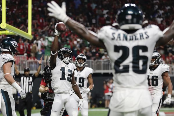 Social media reaction to Eagles-Falcons, Carson Wentz's magic, and Julio Jones' revenge