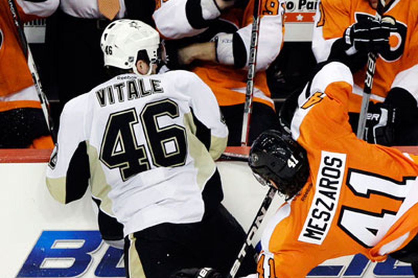 For Flyers, Grossmann, Briere out with injuries, Laviolette hit with fine