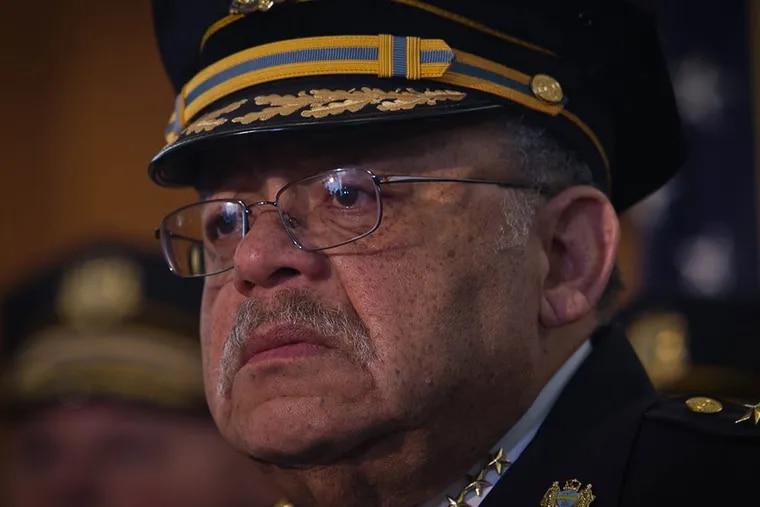 Philadelphia police Commissioner Charles Ramsey. (ALEJANDRO A. ALVAREZ / Staff Photographer)