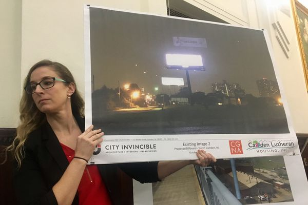 Camden approves controversial billboard proposed near waterfront